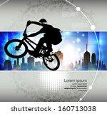 sport vector illustration | Shutterstock .eps vector #160713038