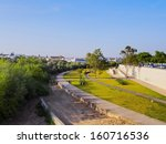 view of guadalquivir riverside... | Shutterstock . vector #160716536