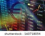 world economics graph. finance... | Shutterstock . vector #160718054