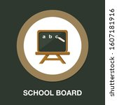 Education Board Icon  School...