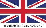 flag of great britain for... | Shutterstock .eps vector #1607247946
