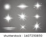 glow isolated white transparent ... | Shutterstock .eps vector #1607250850