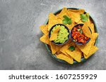 Nachos In A Plate With...