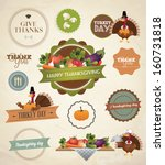 thanksgiving day and harvest... | Shutterstock .eps vector #160731818