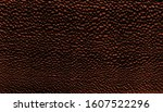 Dark brown natural bumpy texture