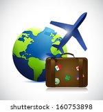 travel concept illustration... | Shutterstock . vector #160753898