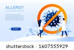 allergy flat landing page with...