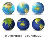 Illustration Of Earth On A...