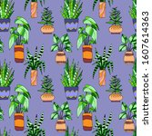 seamless pattern in bright...   Shutterstock .eps vector #1607614363