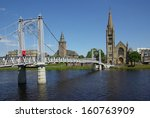 Bridge In Inverness  Scotland...