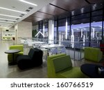 business  building cafe | Shutterstock . vector #160766519