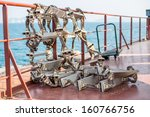 rope ladder for the big ships | Shutterstock . vector #160766756