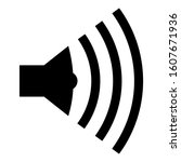 speaker symbol icon a series....