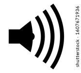 speaker symbol icon a series....