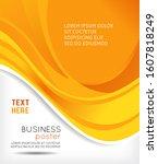 stylish presentation of... | Shutterstock . vector #1607818249