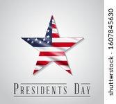 presidents' day. presidents day ...   Shutterstock .eps vector #1607845630