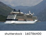 cruises on comfortable ships | Shutterstock . vector #160786400