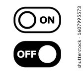 on off icon. switch button....