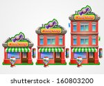 growing business concept. candy ... | Shutterstock .eps vector #160803200