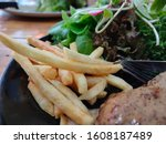Steak And French Fries....