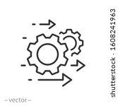 Process Management Icon ...