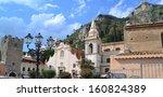 Piazza Ix Aprile In Taormina...