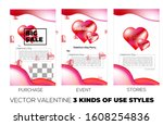 vector with 3 different styles...   Shutterstock .eps vector #1608254836