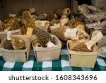 Morel Mushrooms At Farmers...