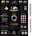 vector infographic composition. | Shutterstock .eps vector #160838300