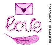 Clipart Envelope With Feather...