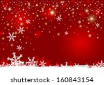 christmas background design of... | Shutterstock .eps vector #160843154