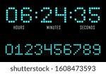 countdown website vector flat... | Shutterstock .eps vector #1608473593