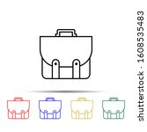 school bag multi color style...