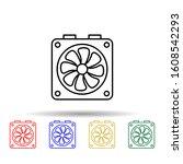 system fan multi color style...