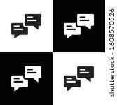 speech bubble icon illustration ...