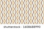 arabic pattern background. ... | Shutterstock .eps vector #1608688990