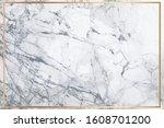 white marble vector background. ... | Shutterstock .eps vector #1608701200