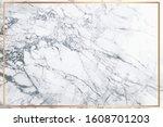 white marble vector background. ... | Shutterstock .eps vector #1608701203