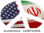 radiation hazard symbol and...   Shutterstock . vector #1608742846