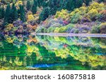 Colorful Lakes In Autumn At...