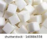 sugar background sweet food... | Shutterstock . vector #160886558