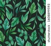 watercolor seamless pattern...   Shutterstock . vector #1608899593