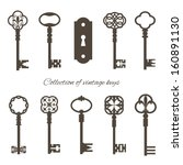 Collection Of Vintage Keys And...