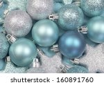 Festive Background Of Aqua...