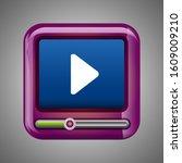 player icon vector. multimedia...