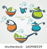 vector collection of cooking... | Shutterstock .eps vector #160908539