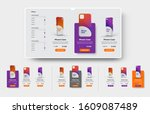 vector ui set of product cards...
