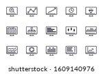 set of data analysis  seo ...   Shutterstock .eps vector #1609140976