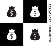money bag icon for web and...