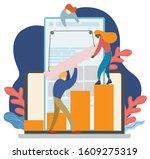 gps navigation service... | Shutterstock .eps vector #1609275319